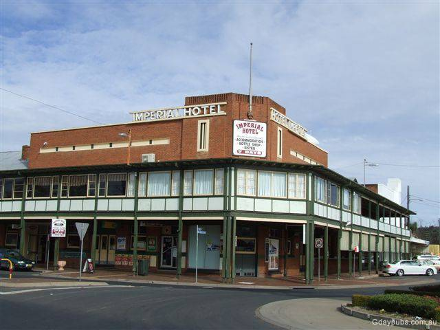 Imperial Hotel Coonabarabran - Newcastle Accommodation