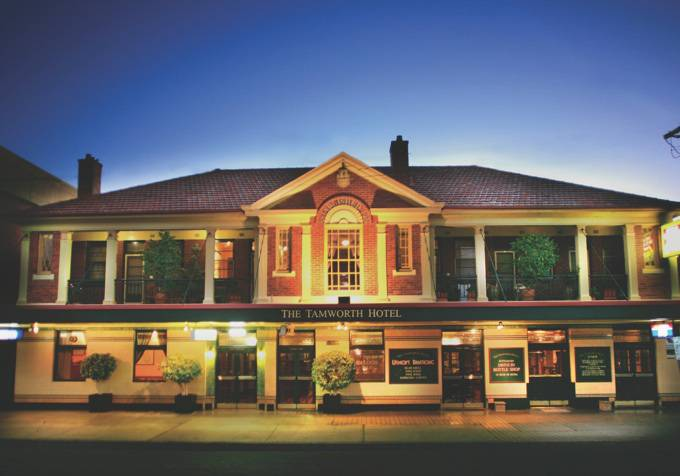 Tamworth Hotel - Newcastle Accommodation