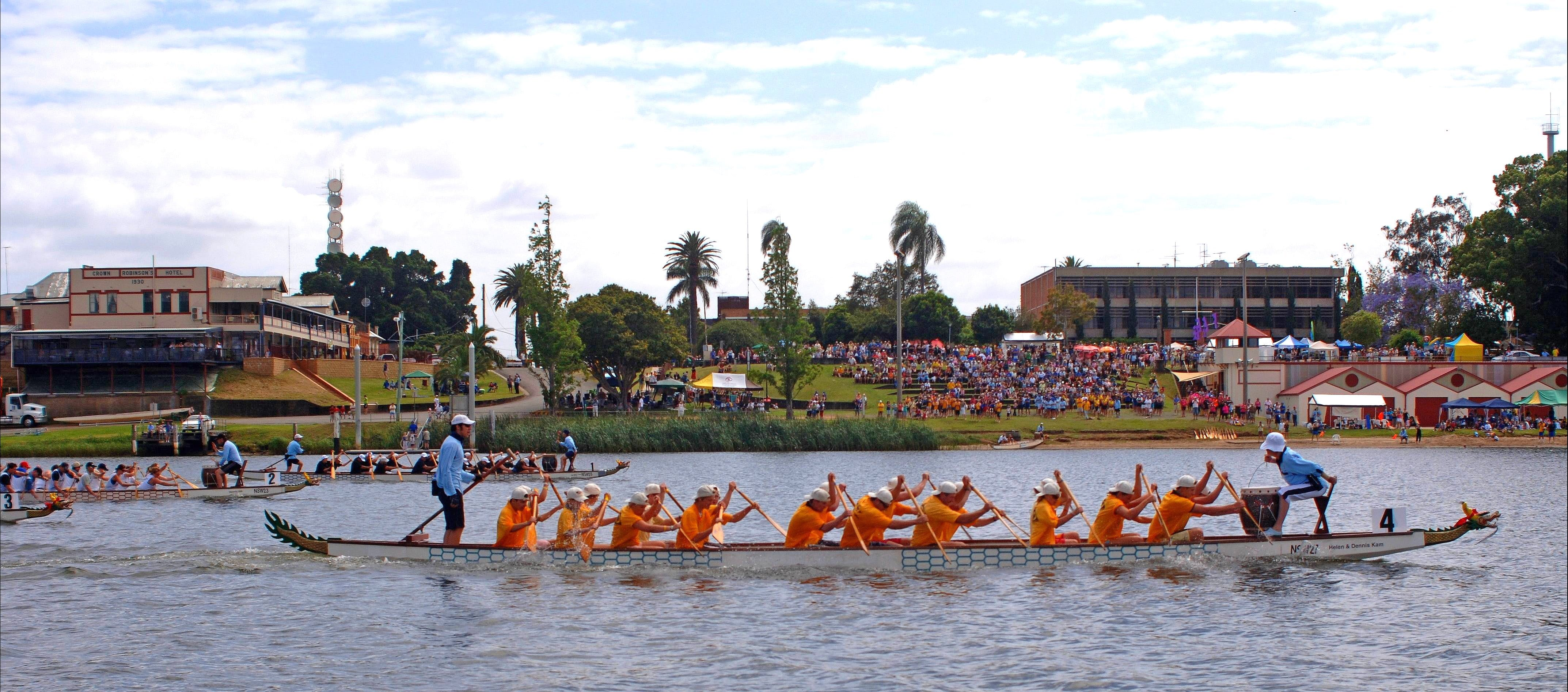 Jacaranda Dragon Boat Races - Newcastle Accommodation