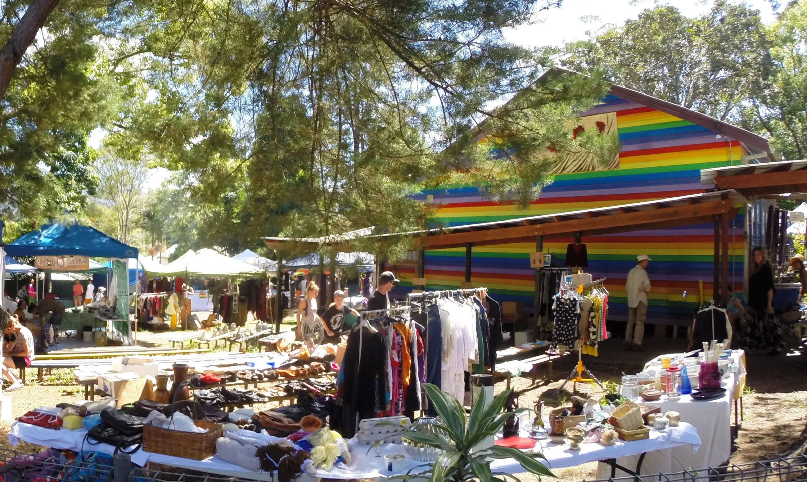 Nimbin Markets - Newcastle Accommodation