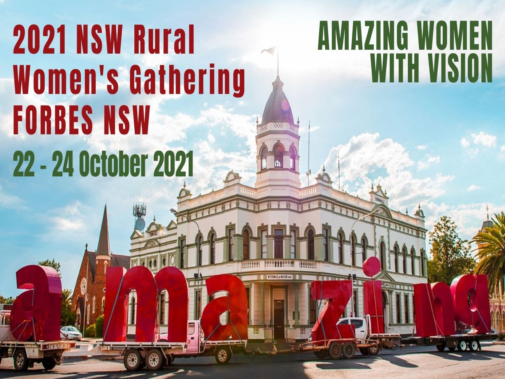 Forbes NSW Rural Women's Gathering - Newcastle Accommodation