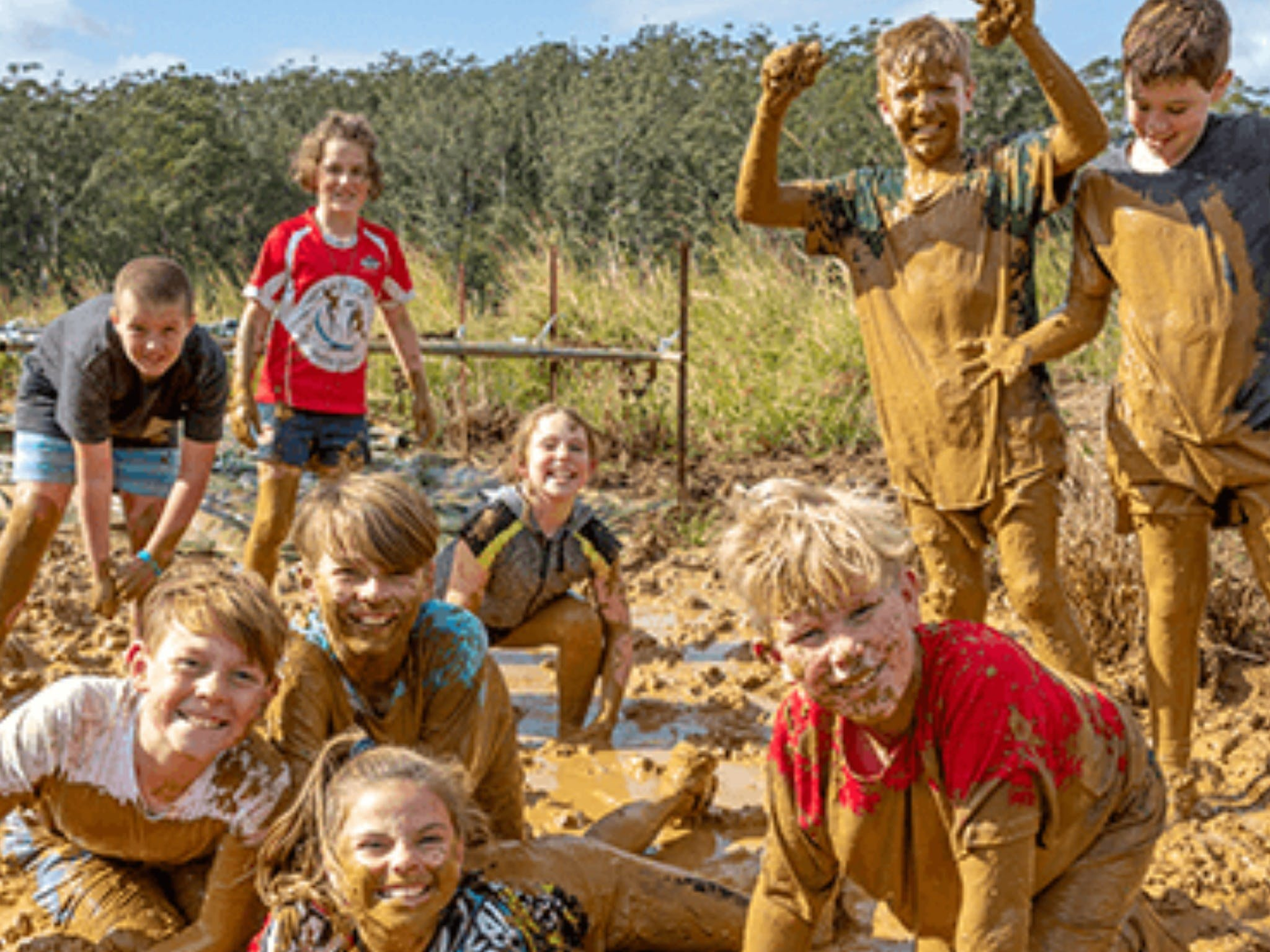 Mini Muddies Obstacle Challenge at Bunnamagoo Estate - Newcastle Accommodation