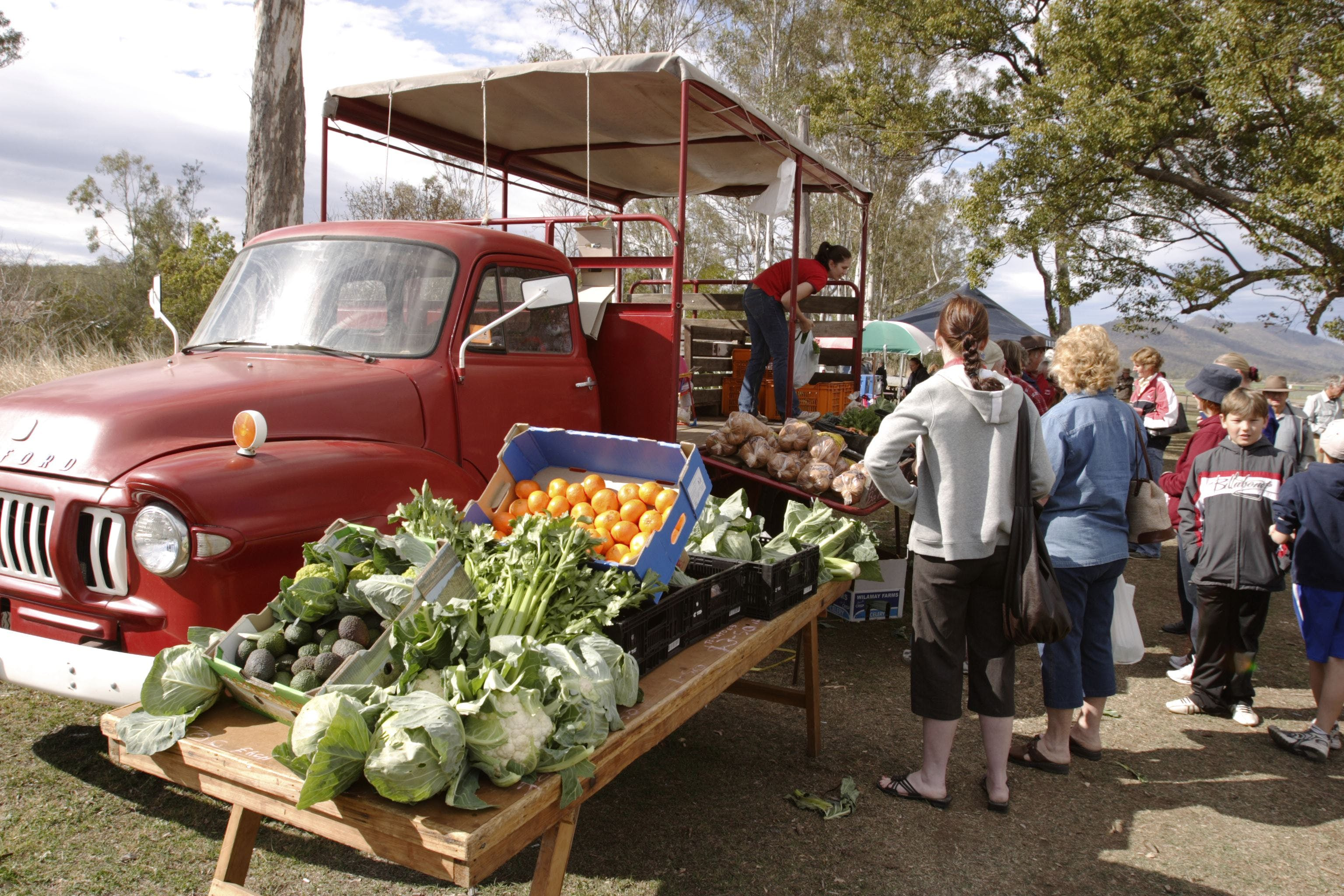 Murphys Creek Markets - Newcastle Accommodation