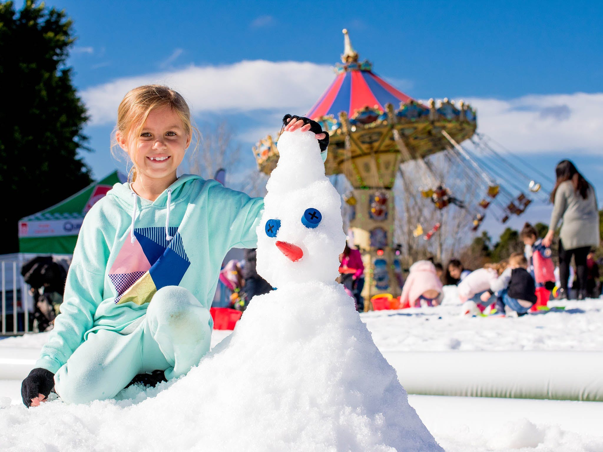 Snow Time in the Garden - Hunter Valley Gardens - Cancelled - Newcastle Accommodation