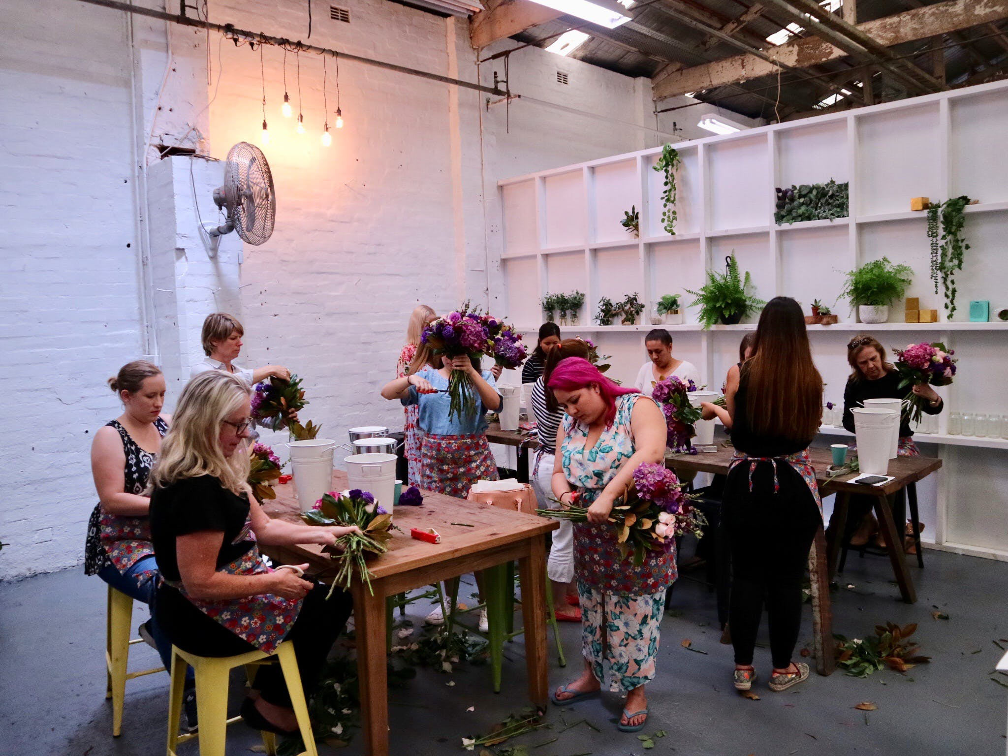 Fun Floral workshops for beginners - Newcastle Accommodation