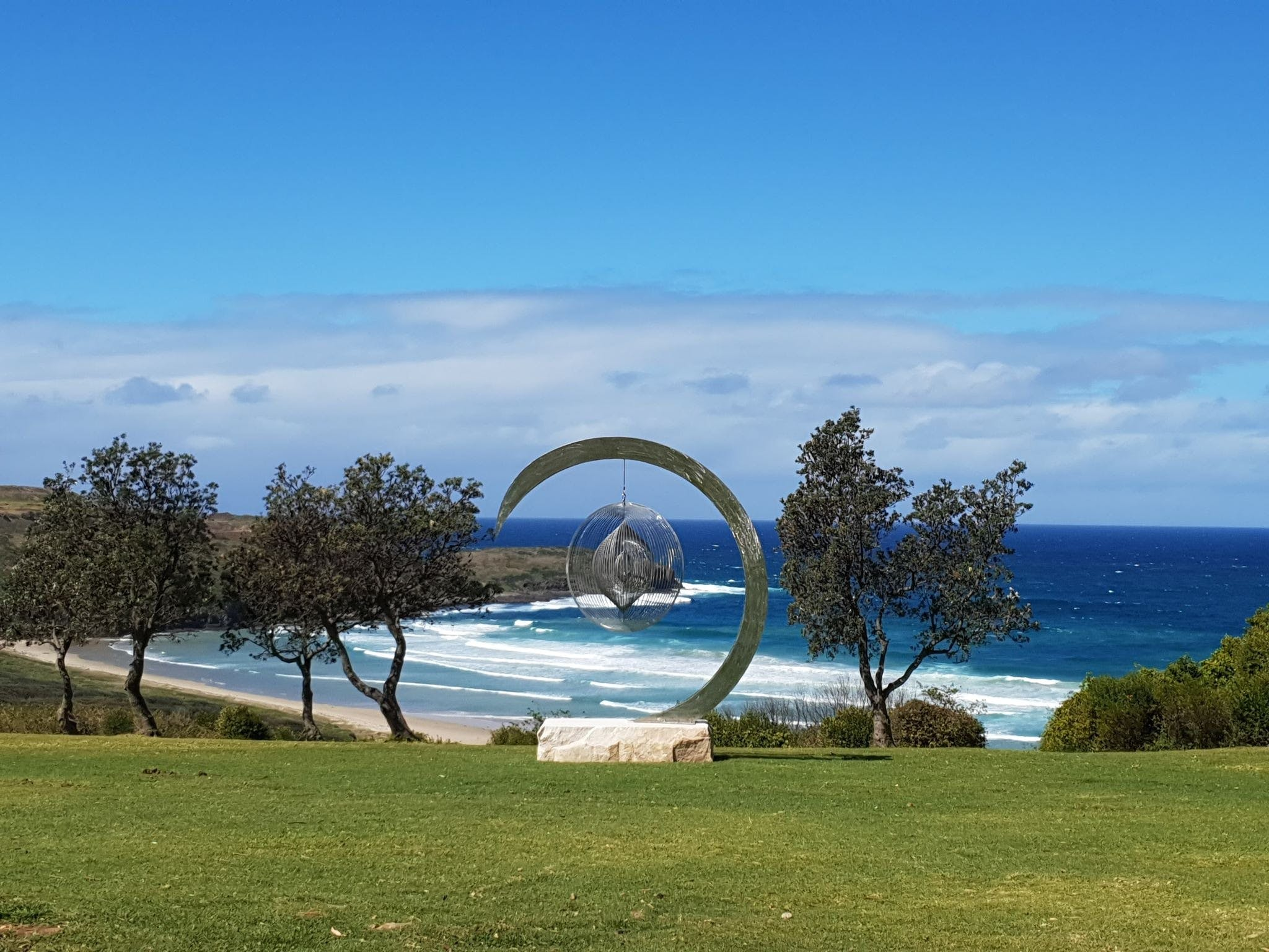 Sculptures at Killalea - Newcastle Accommodation