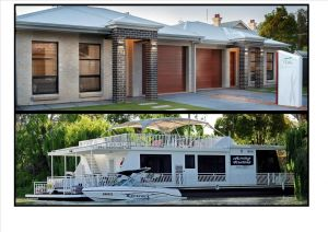 Renmark River Villas and Boats  Bedzzz - Newcastle Accommodation